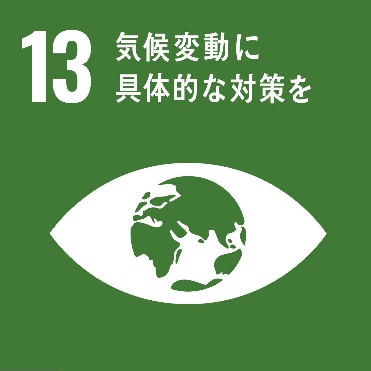 13: 気候変動に具体的な対策を